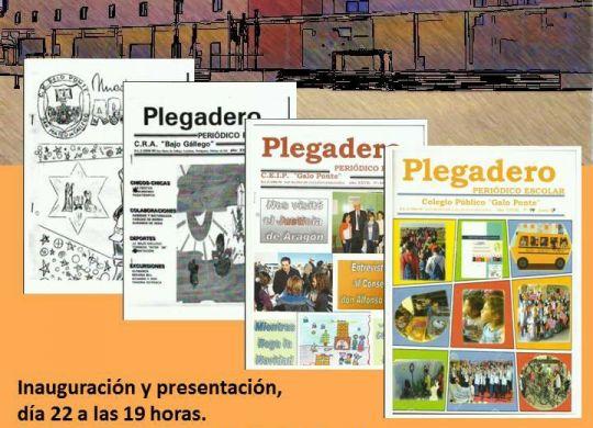 Exposición portadas Plegadero