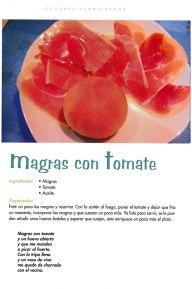 Magras con tomate de San Mateo de Gállego