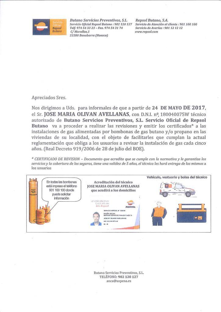 Empresas autorizadas revision gas butano beautiful slide for Revision gas butano empresas autorizadas